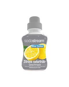 SodaStream Zitrone Naturtrüb ohne Zucker 375 ml - Getränkesirup für 9 Liter