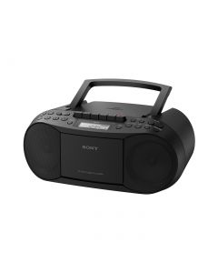 Sony CFD-S70B - CD-Kassetten-Radio - schwarz - mit MP3 Funktion - produkt