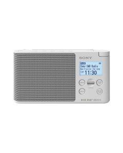 Sony XDRS41DW - tragbares Radio mit DAB+ - weiß, grau - produkt