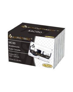 Soundmaster MC905P - Audio-Leerkassette 90 Min. - 5er Pack