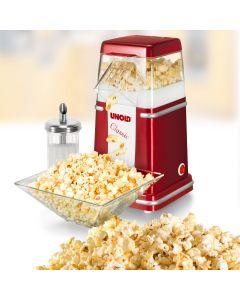 Unold Popcornmaschine Classic rotmetallic-silber