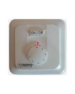 Watts Raumtemperaturregler Unterputz mit Fernfühler zur Begrenzung der Bodentemperatur