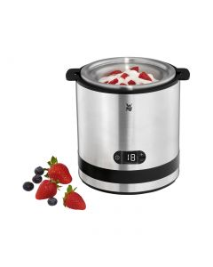 WMF KÜCHENminis Eismaschine 3in1 - Eiscreme, Sorbet, Frozen Yoghurt - edelstahl