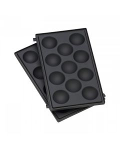 WMF LONO Snack Master Pro - Muffin Platten Set - schwarz - produkt