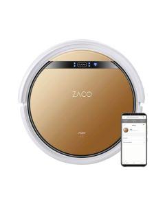 ZACO V5x - Staubsaugroboter mit Wischfunktion, App- & Alexa-Steuerung - bronze-weiß - Produkt mit App
